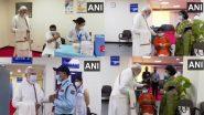Prime Minister Narendra Modi Visits Vaccination Site: টিকাকরণে ১০০ কোটি, দিল্লির ভ্যাকসিনেশন কেন্দ্র পরিদর্শনে প্রধানমন্ত্রী (দেখুন ভিডিও)
