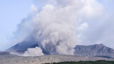 Mount Aso Volcano Erupts: জাপানের মাউন্ট এসো আগ্নেয়গিরি থেকে অগ্নুৎপাত, দেখুন ভিডিয়ো