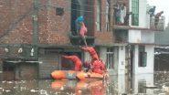 Uttarakhand Rains: জলমগ্ন চারপাশ, উত্তরাখন্ডের রুদ্রপুরে উদ্ধারকাজ