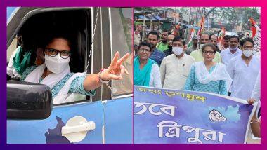 Tripura-য় সুস্মিতা দেবের গাড়ি 'ভাঙচুর', অভিযোগ বিজেপির বিরুদ্ধে